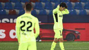 El Atlético de Madrid tropieza con el Levante