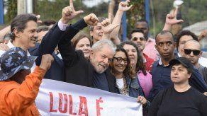 Lula salió de la cárcel