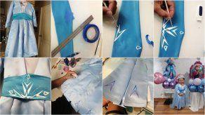 Creatividad: Logra el diseño del vestido de la princesa Elsa con estos valiosos tips