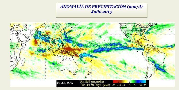 CIIFEN reporta El Niño fuerte en el Pacífico y no descarta mayor intensidad