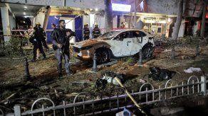 Hamás disparó 130 cohetes contra el área de Tel Aviv, uno de las principales núcleos urbanos de Israel.