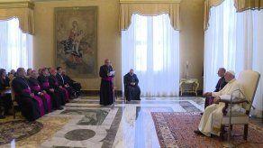 Papa Francisco recibió a peregrinos panameños en el Vaticano