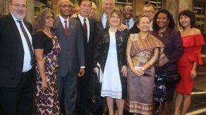 Díaz-Canel recibe a los jefes del cuerpo diplomático acreditado en Cuba