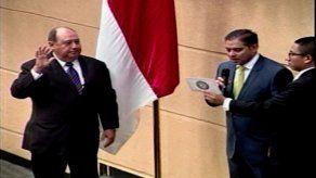 Asamblea Nacional juramenta al diputado Carlos Afú