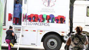 Reanudan jornadas de detección de cáncer de mama en Panamá Norte y el Parque Omar