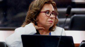Denuncian a la fiscal general de Guatemala por ayudar a la excandidata Torres