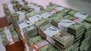 Decomisan millonaria suma de dinero en Vía España