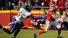 Gol de campo en tiempo extra da triunfo a Chiefs ante Ravens