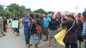 Invasores que fueron desalojados en Chepo exigen se les devuelva las tierras