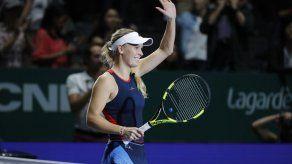Wozniacki derrota a Kvitova en la Final de la WTA
