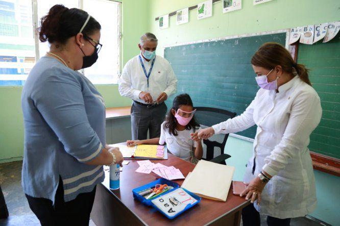 Los planteles educativos con baja matrícula están siendo inspeccionados por equipos de trabajo del Meduca