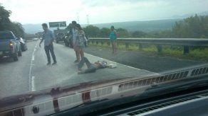 Hombre fue atropellado en Loma Campana