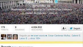 Cuenta Twitter del papa Francisco tiene más de 10 millones de seguidores