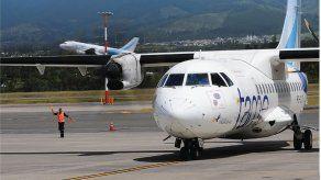 Aerolínea ecuatoriana TAME abre nueva ruta Quito-Bogotá tras reestructuración