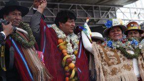 Bolivia: Congreso aprueba amnistía a seguidores de Morales