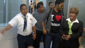 Llegada de Jair Romero a Panamá
