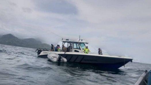 Están desaparecidos a 22 millas náuticas al sur de Punta Mala.