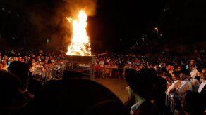 Festejo trágico en Israel