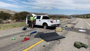 Texas: 8 inmigrantes mueren en choque de camionetas