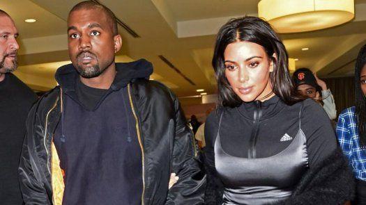 Kim Kardashian y Kanye West, una de las parejas más seguidas en el ámbito internacional.