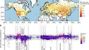 Analizan temperaturas lluvia y nieve en hemisferio norte para pronósticos