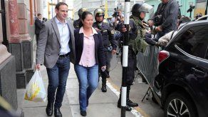 Juez peruano dicta 36 meses de prisión contra principales asesores de Keiko