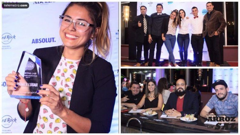 Anny Arroyave, gana la 2da Cocktail Lab Bartender Competition en Panamá
