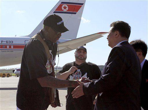 Rodman espera que partido de básquet en Corea del Norte permita a EEUU implicarse