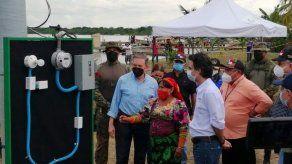 Inauguran proyecto de línea eléctrica en la comunidad de Cartí