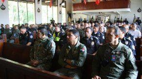 Recuerdan a panameños y chilenos caídos en tragedia SAN-100