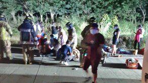Al menos 13 heridos tras accidente de tránsito entre un busito y una mula en Antón