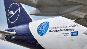 Esta cobertura equipará una porción de la superficie de la flota operada por Lufthansa Cargo.