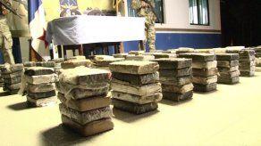 Incautan 204 paquetes de droga en Isla Caña