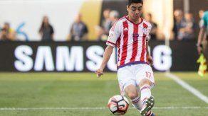 Almirón sella victoria de Paraguay sobre Bulgaria por 1-0