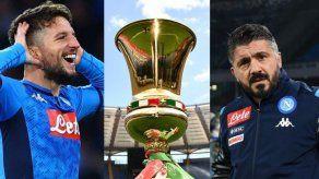 Nápoles gana la Copa de Italia al superar a Juventus en los penales