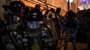 Rusia dice que la firme respuesta policial frente a opositores está justificada