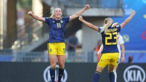 Suecia da la sorpresa y vence en cuartos a la campeona olímpica Alemania