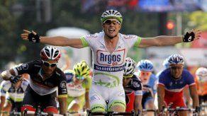 Degenkolb se lleva la quinta etapa de Vuelta a España