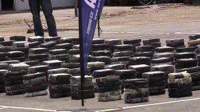Senan decomisa cargamento de cocaína en Boca La Caja