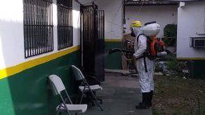 Realizan jornada de desinfección y fumigación en área metropolitana