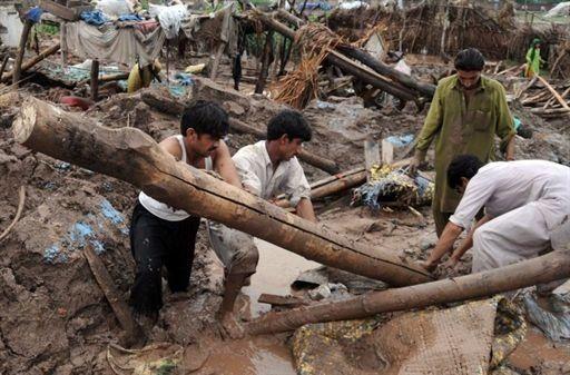 Julio, mes de tragedias para Pakistán