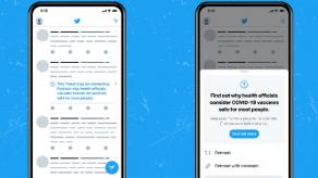 Twitter marcará con etiquetas los mensajes engañosos sobre la vacuna contra covid