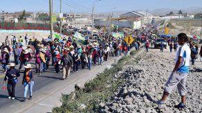 Humala pide calma a pobladores que protestan contra proyecto minero