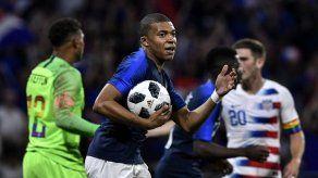 Francia iguala 1-1 ante Estados Unidos en su último ensayo antes de Rusia-2018