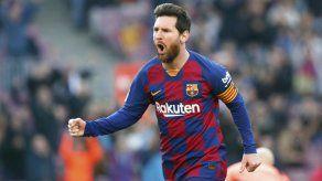 Lionel Messi pone fin a sequía y Barcelona aplasta a Eibar