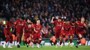 Liverpool elimina al Arsenal en Copa de la Liga