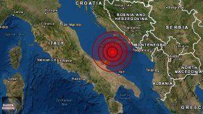 Un sismo de magnitud de 5.6 sacude la costa italiana