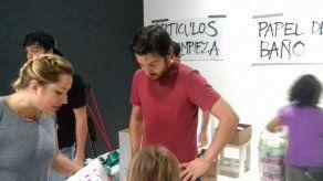 Actor Diego Luna se lanza en ayuda de damnificados por sismo en México